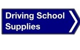 Driving school supplies logo